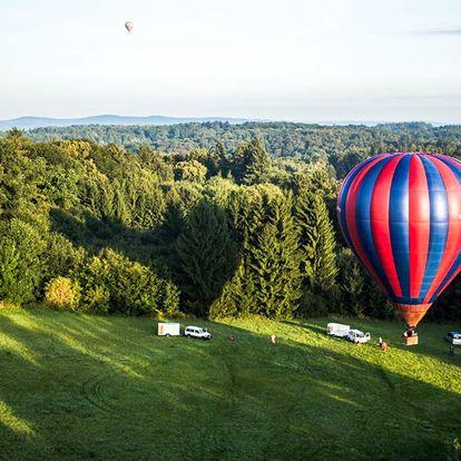 Vyhlídkový let v balónu pro 2 osoby