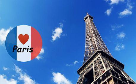 Letní poznávací zájezd do Paříže s průvodcem
