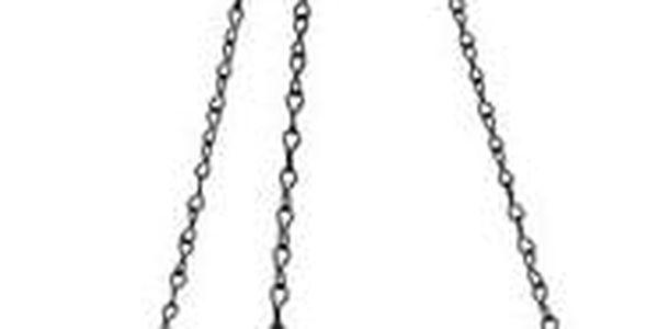 Plastia Samozavlažovací květináč Mareta zelená , pr. 30 cm, pr. 30 cm3
