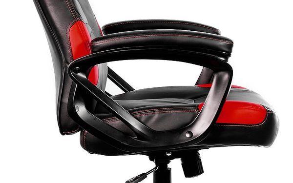 Herní židle Arozzi ENZO (ENZO-RD) černá/červená3