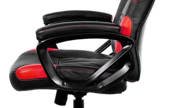 Herní židle Arozzi ENZO (ENZO-RD) černá/červená5
