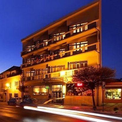 3 až 8denní wellness pobyt pro 2 se snídaněmi v hotelu Krystal*** v Luhačovicích