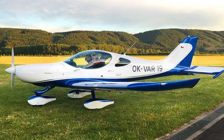 Zážitkový let sportovním letounem nad Moravou