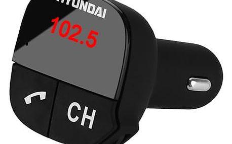 FM Transmitter Hyundai FMT 419 BT CHARGE černý