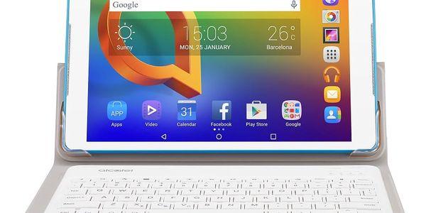 """Dotykový tablet ALCATEL A3 10"""" Wi-Fi 8079 + klávesnice (8079-2DALE15-3) bílý Software F-Secure SAFE, 3 zařízení / 6 měsíců v hodnotě 979 Kč3"""