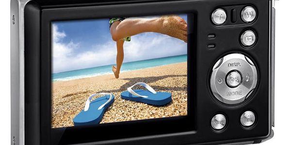 Digitální fotoaparát Rollei Sportsline 85 červený2