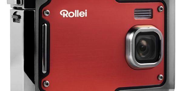 Digitální fotoaparát Rollei Sportsline 85 červený4