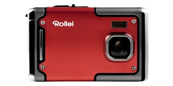 Digitální fotoaparát Rollei Sportsline 85 červený5