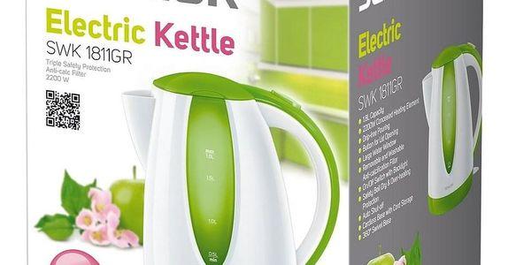 Sencor SWK 1811GR rychlovarná konvice zelená2