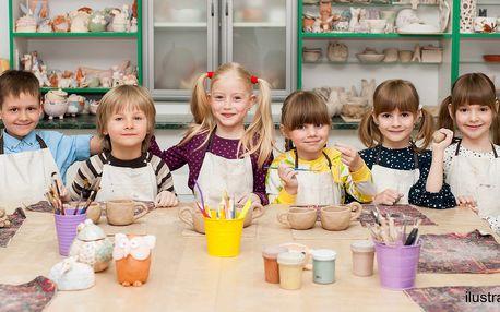 Tvořivá dílna: keramika pro děti i rodiče