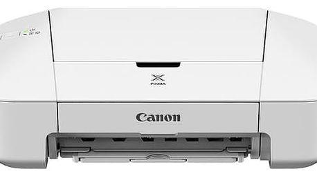 Tiskárna inkoustová Canon PIXMA iP2850 bílá (A4, 8str./min, 4str./min, 4800 x 1200, USB) (8745B006AA)