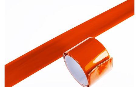 Reflexní náramek páska na ruku samonavíjecí 1+ 1 ZDARMA