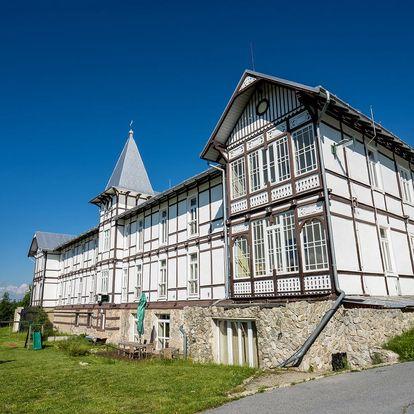 Pobyt s krásným výhledem na Tatry pro 2 osoby