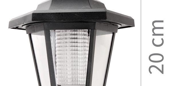 ProGarden Solární lampa POST LIGHT, zahradní, LED3