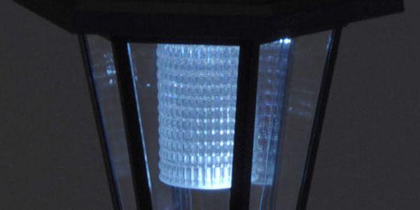 ProGarden Solární lampa POST LIGHT, zahradní, LED5