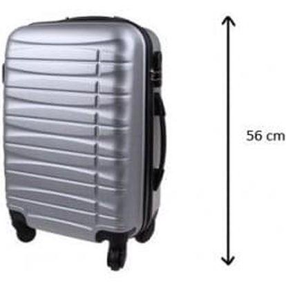Kufr malý stříbrný