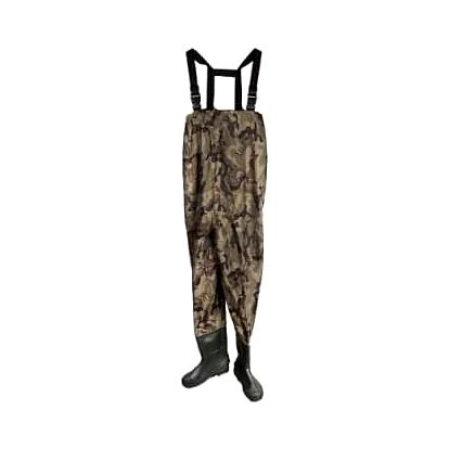 Brodící kalhoty tmavý maskáč 43