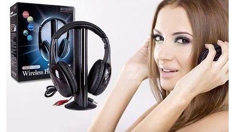 Bezdrátová sluchátka 5v1