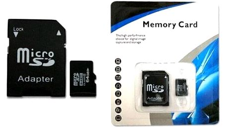 Micro SD paměťová karta 64GB