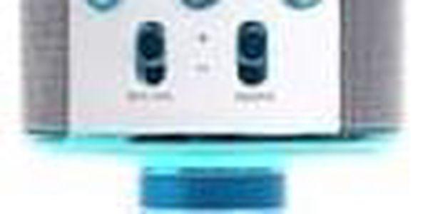 Karaoke mikrofon WS-858 modrý