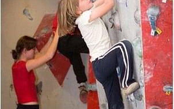 Horolezčata - lekce lezení5