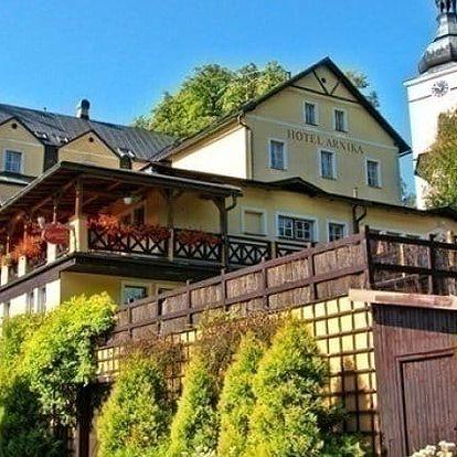 3–7denní wellness pobyt s polopenzí v hotelu Arnika*** v Krkonoších pro 2