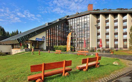 Prázdninový pobyt ve Wellness hotelu Svornost v Harrachově (6 dní / 5 nocí)
