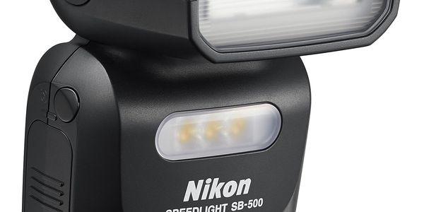 Blesk Nikon SB-500 černý + DOPRAVA ZDARMA3