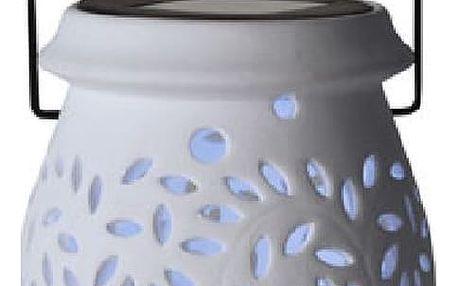 Bílá venkovní LED lucerna Best Season Clay