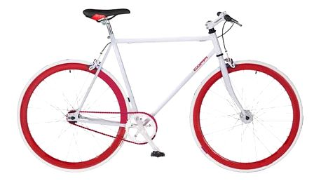 Coppi Scatto Fisso bílé/červené
