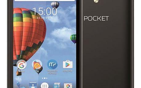 Mobilní telefon myPhone POCKET (TELMYAPOCKETBK) černý Software F-Secure SAFE, 3 zařízení / 6 měsíců v hodnotě 979 Kč