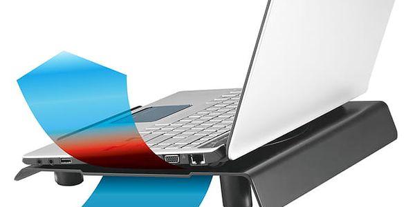 """Chladící podložka pro NTB Cooler Master NotePal CMC3 pro 12"""" - 15"""" (R9-NBC-CMC3-GP) černá3"""