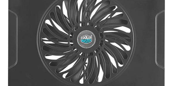 """Chladící podložka pro NTB Cooler Master NotePal CMC3 pro 12"""" - 15"""" (R9-NBC-CMC3-GP) černá4"""