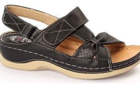 Dámské zdravotní sandále KOKA 1 černé