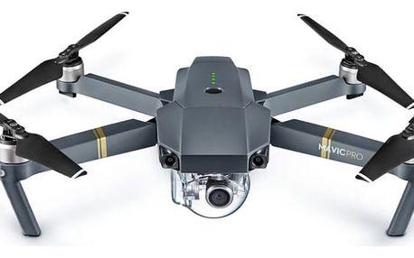 Dron DJI Mavic Pro, 4K Full HD kamera šedý (DJIM0250)
