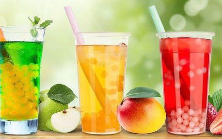 Letní osvěžení: Bubble Tea o objemu 0,7 l dle výběru