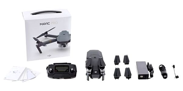 Dron DJI Mavic Pro, 4K Full HD kamera (DJIM0250) šedý + DOPRAVA ZDARMA3