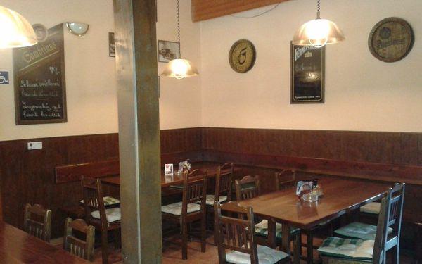Prkno plné masa: více než kilové pečené koleno v Restauraci Pod Jasanem2