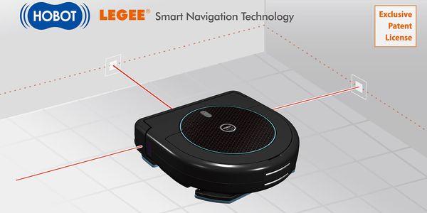Vysavač robotický HOBOT LEGEE668 černý4