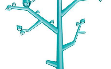 Stromeček na šperky Pi:p,velikost L - barva tyrkysová, KOZIOL
