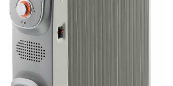 Olejový radiátor Gorenje OR 2300 PEM stříbrný2