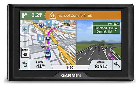 Navigační systém GPS Garmin Drive 51S Lifetime Europe45 černá (010-01678-17)