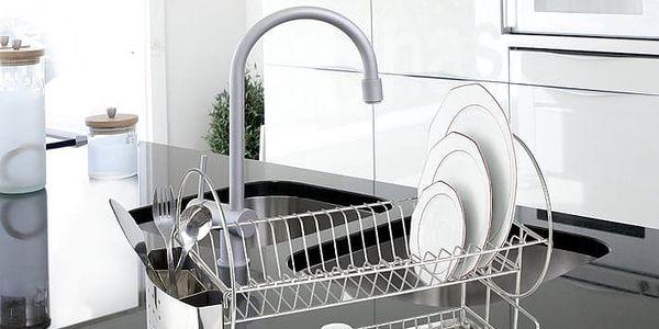 Odkapávač na nádobí, Sušák DUO EXCLUSIV - 2 úrovně, WENKO3