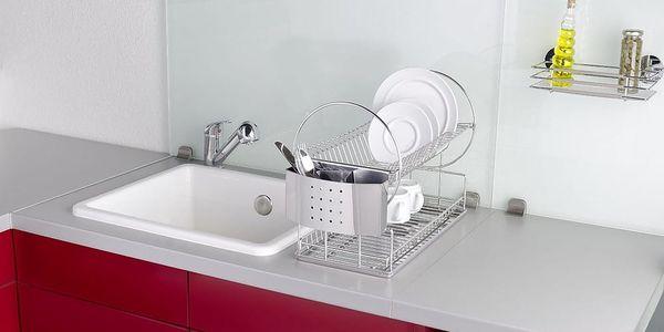 Odkapávač na nádobí, Sušák DUO EXCLUSIV - 2 úrovně, WENKO4