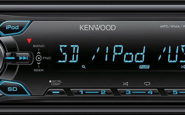 Autorádio Kenwood KMM-361SD3