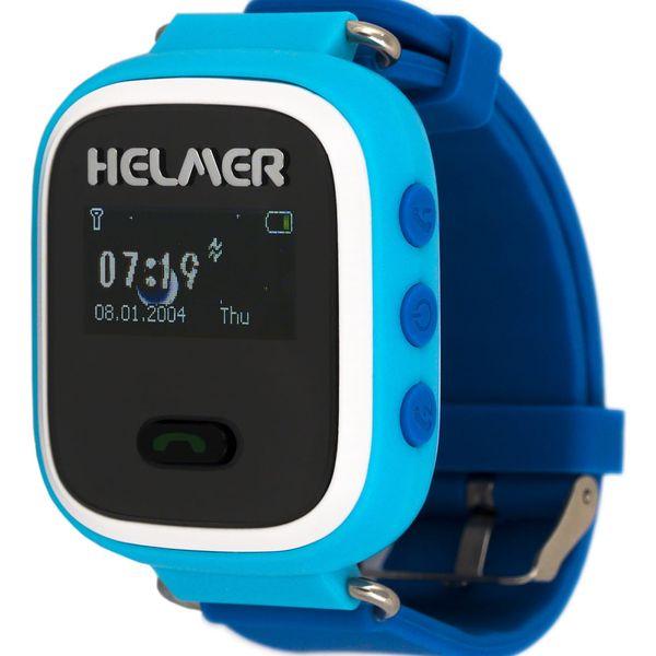 Chytré hodinky Helmer LK 702 dětské (Helmer LK 702 B) modrý2