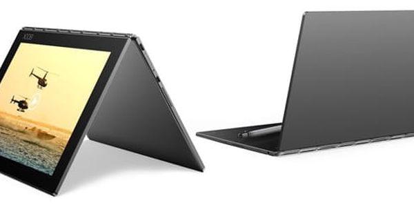 Dotykový tablet Lenovo YOGA Book 10 LTE (ZA0W0019CZ) šedý SIM karta T-Mobile 200Kč Twist Online Internet + Software F-Secure SAFE, 3 zařízení / 6 měsíců v hodnotě 1 179 Kč + DOPRAVA ZDARMA
