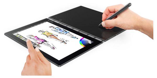Dotykový tablet Lenovo YOGA Book 10 LTE (ZA0W0019CZ) šedý SIM karta T-Mobile 200Kč Twist Online Internet + Software F-Secure SAFE, 3 zařízení / 6 měsíců v hodnotě 1 179 Kč + DOPRAVA ZDARMA4
