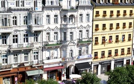 Hotel Palacký v centru lázeňské zóny na věhlasné Staré Louce