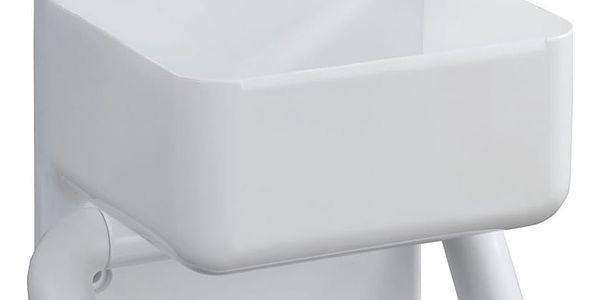 Držák na toaletní papír+ kontejner, 2 v 1, WENKO2